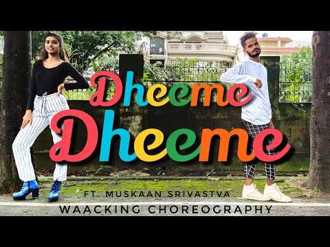 dheeme-dheeme-||-pati-patni-aur-woh-||-waacking-dance-choreography