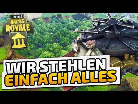 Wir stehlen einfach alles - ♠ Fortnite Battle Royale: High Stakes ♠ - Deutsch German