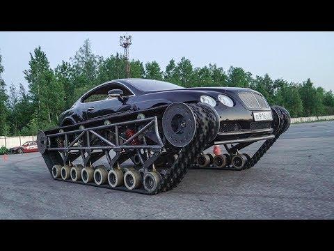 Подготовка Bentley Ultratank к выезду в город.
