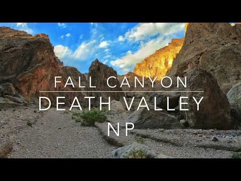 Fall Canyon - One Of The Best Hikes In Death Valley!