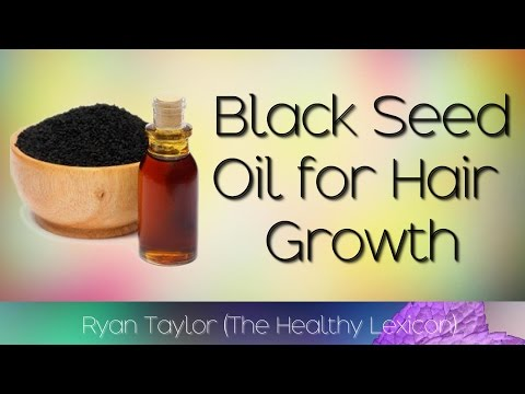 Black Seed Oil: for Hair Growth