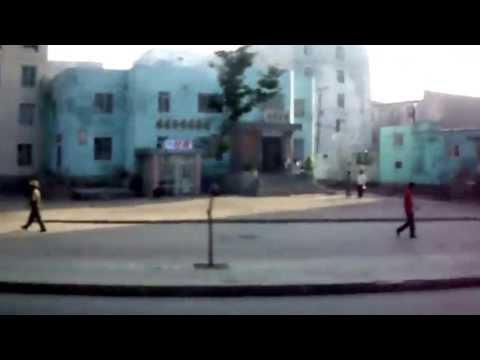 Kuzey Kore Pyongsong North Korea street