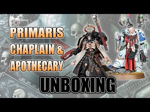 Are the Primaris Chaplain & Apothecary Worth it?