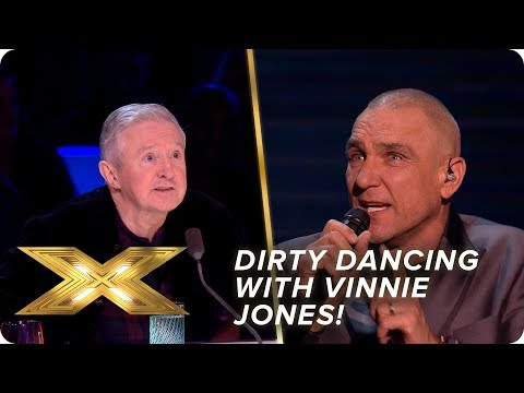 Dirty Dancing with Vinnie Jones | Semi-Final | X Factor: Celebrity