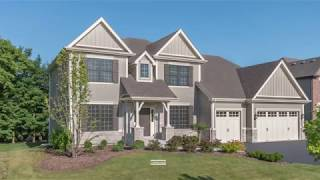 Custom Home Tour - Home For Sale at Amberwood Estates in Wheaton IL