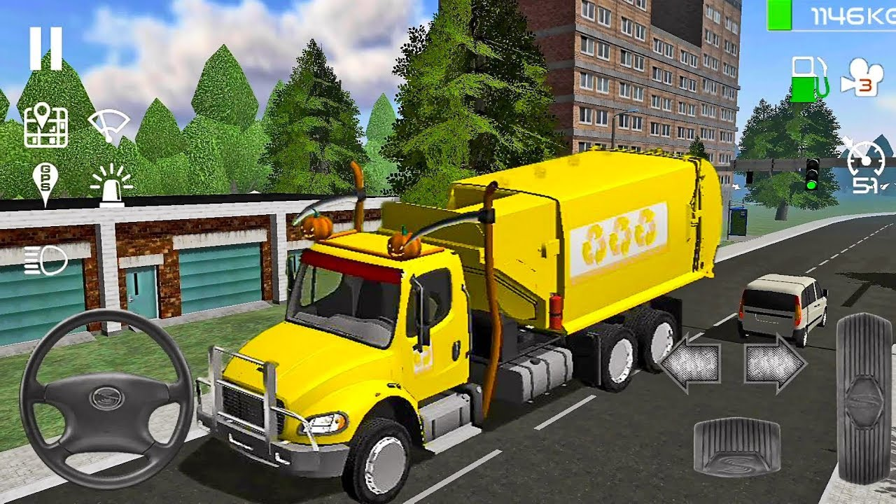 Trash Truck Simulator: Freight #18  – Truck Games! Android gameplay