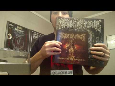 Cradle of Filth - Dusk and her embrace the original sin - VINYL UNBOXING