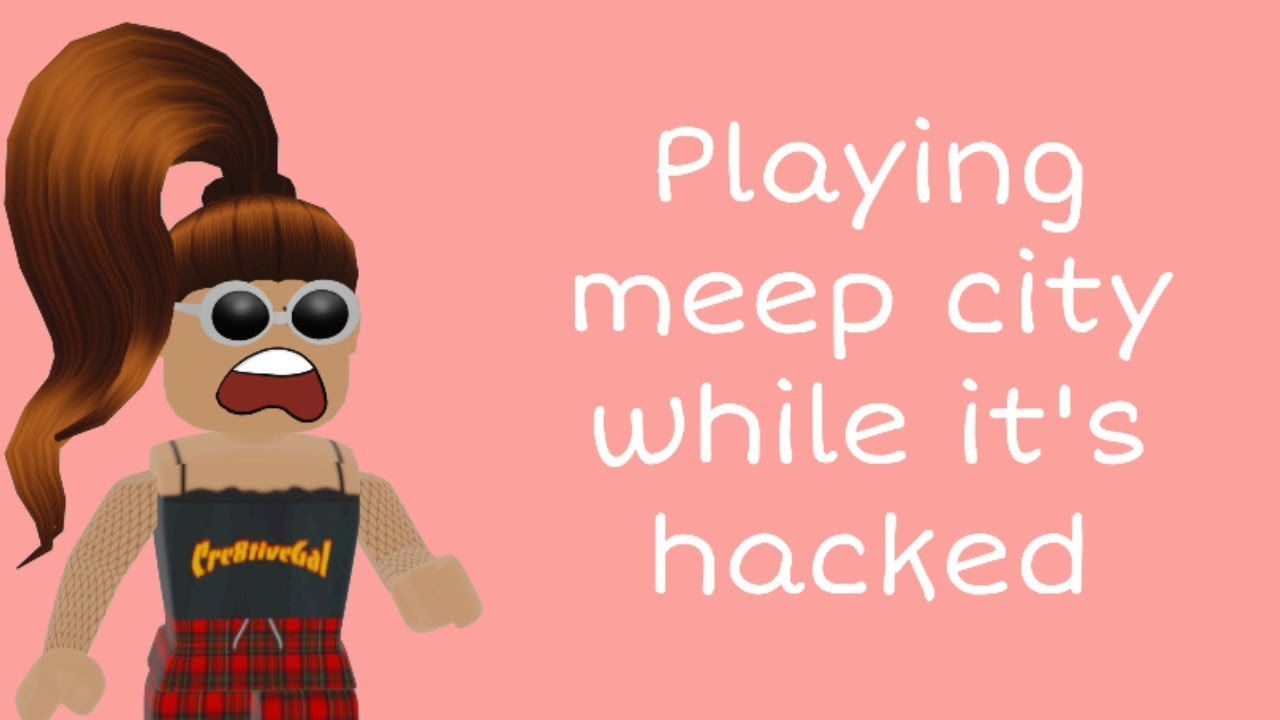 Meep City Hacked Live Roblox Youtube