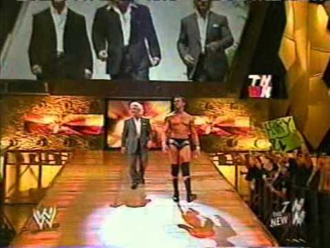 WWE - Evolution 1st titan tron, Randy...