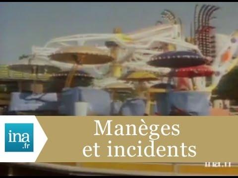 Accident de manège à Toulouse - Archive INA