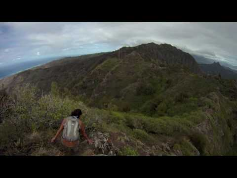 Island Trails - Mariners Ridge to Hawaii Loa Ridge (GoPro POV)