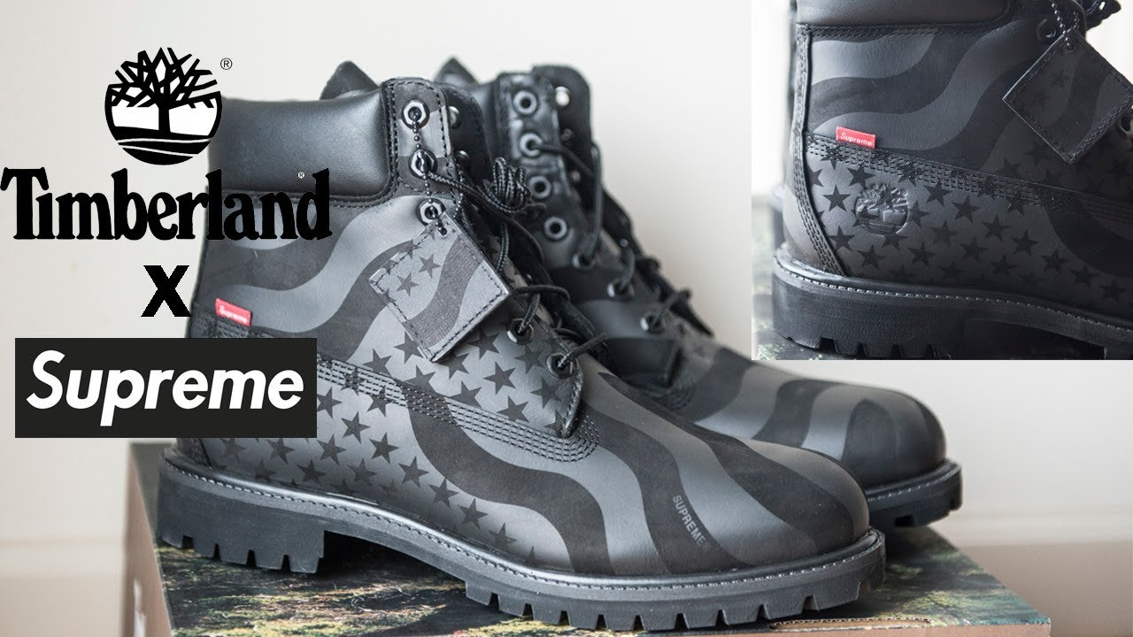 Supreme Timberland 6-inch Premium Boots | Best Shoes For Winter