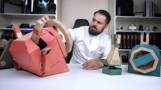 5 Monate mit der teuersten Pappe der Welt + das NEUE Fahrzeug-Set im Test - Nintendo Labo Toy-Con 03