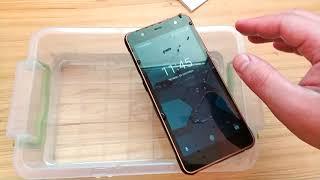 Краш тесты смартфона POPTEL P10 - еще вода, бетон и прочее
