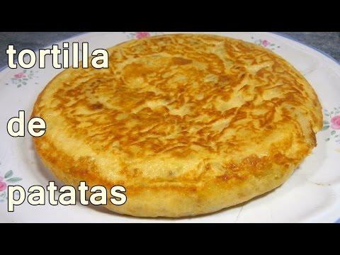 TORTILLA DE PATATAS JUGOSA - recetas de cocina faciles rapidas y economicas de hacer