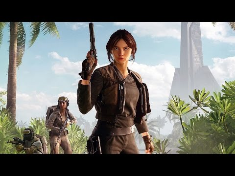 STAR WARS Battlefront Rogue One Scarif - Gameplay Trailer