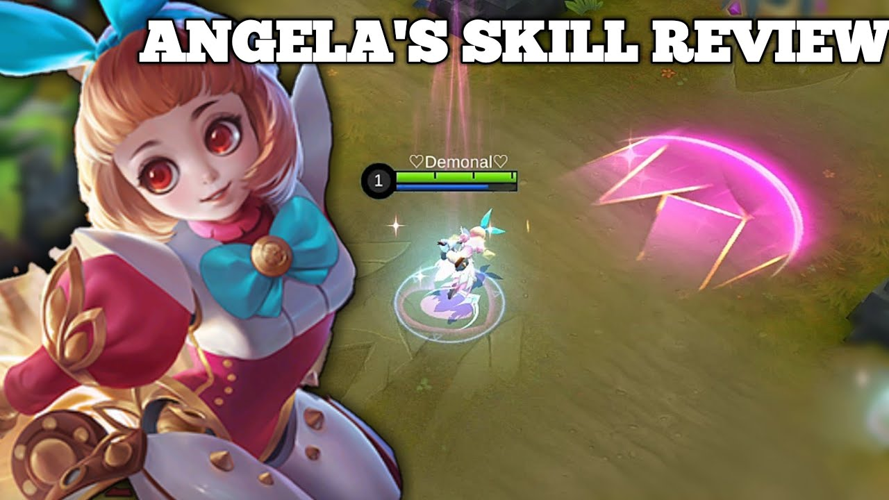 NEW SUPPORT HERO ANGELA | SKILL REVIEW | MOBILE LEGENDS