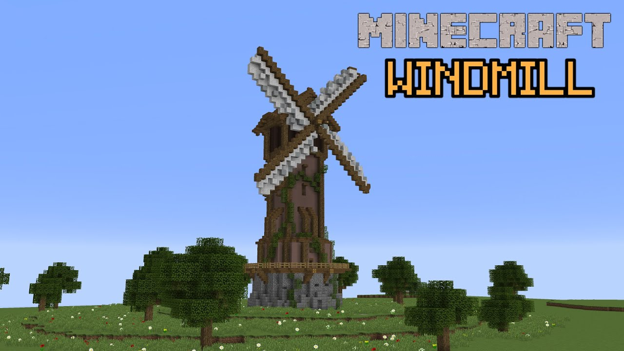 House Designs Minecraft Building With Grian Windmill Youtube