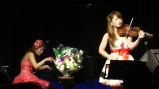 20111212☆神楽坂the Glee にてアジアントリニティのおふたりの素敵な演...