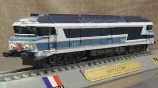模型 フランス国鉄 CC72000形ディーゼル機関車 1/160 Nゲージ