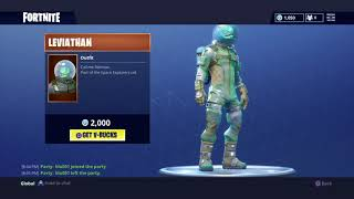 NEW LEVIATHAN SKIN IN FORTNITE ITEM SHOP! Super Fast Builder - Top Console Player #SoaRRC