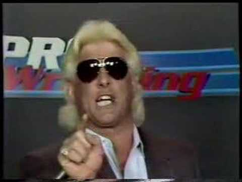 Ric Flair promo Starrcade to fight Nikita Koloff