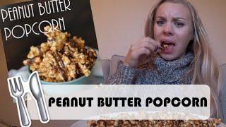 Peanut Butter Popcorn   Vlogg
