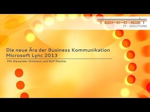 "Webinar ""Unified Communications mit Microsoft Lync 2013"""
