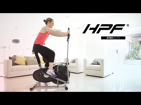 HPF 5in1 Elliptical Cross Trainer & Exercise Bike Equipment Fitness Home Gym