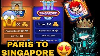 Carrom pool Paris to Singapore Gameplay | Carrom disc pool | Carrom pool game | #Carrompooltech screenshot 4