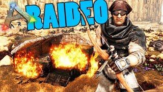 RAIDEO PREVENTIVO!! - ARK - AVENTURA EN PAÑALES! #09 - Nexxuz