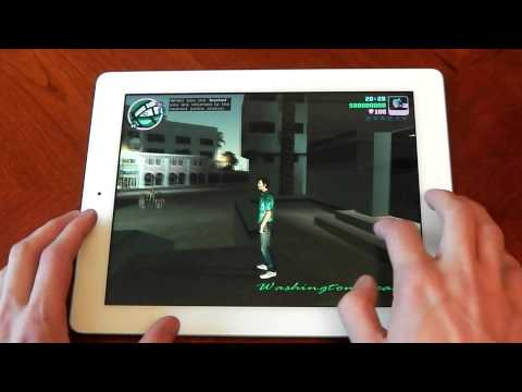 iPad 4 (4th Gen) - GTA Vice city - Performance - HD