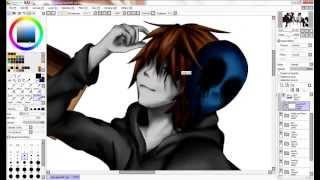 [SpeedPaint] - Eyeless Jack & Jeff The Killer (+Thank You!)