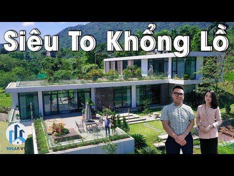 """Photo of Khám Phá Biệt Thự """"SIÊU TO KHỔNG LỒ"""" Suối Nguồn Villa rộng 7000m2 tại Thạch Thất, Hà Nội – NhaF [4K]"""