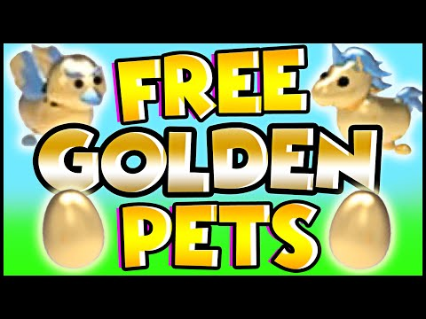 How To Get FREE GOLDEN EGG And FREE PETS In Adopt Me!! Adopt Me Roblox Update!!
