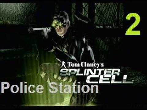 Tom Clancy's Splinter Cell (2002) Stealth Walkthrough [HARD] - Mission 2 - Police Station