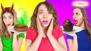 FAKE FRIENDS vs. REAL FRIENDS! WHO is the REAL? Relatable Funny Situations by Challenge Accepted