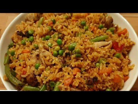 comment-je-prépare-mon-riz-À-la-sauce-tomate-et-au-légumes-(-riz-boulayi-)-#riz-#rice-#legumes-#riz