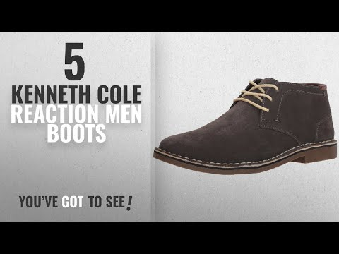 Top 10 Kenneth Cole Reaction Men Boots [ Winter 2018 ]: Kenneth Cole REACTION Men's Desert Sun SU