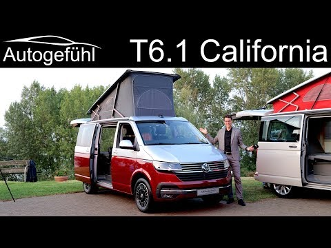 VW Multivan T6.1 California REVIEW Beach Vs Coast Vs Ocean Comparison - Autogefühl