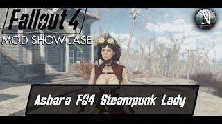 fallout 4 mod showcase ashara fo4 steampunk lady by sydneyb