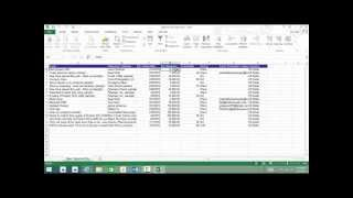 Export Microsoft Dynamics CRM 2015 Data to Excel