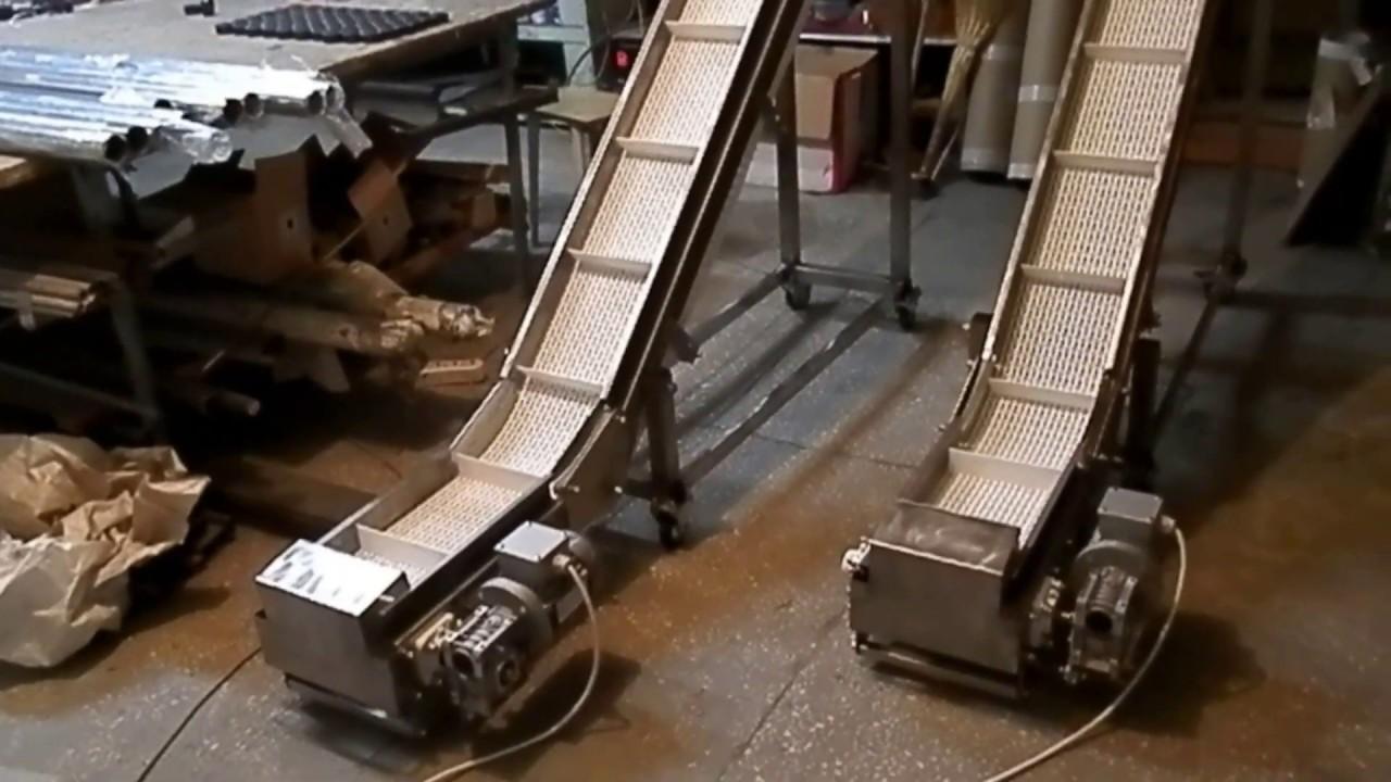 конвейер с толкателями