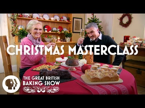 THE GREAT BRITISH BAKING SHOW   Christmas Masterclass Special   PBS Food