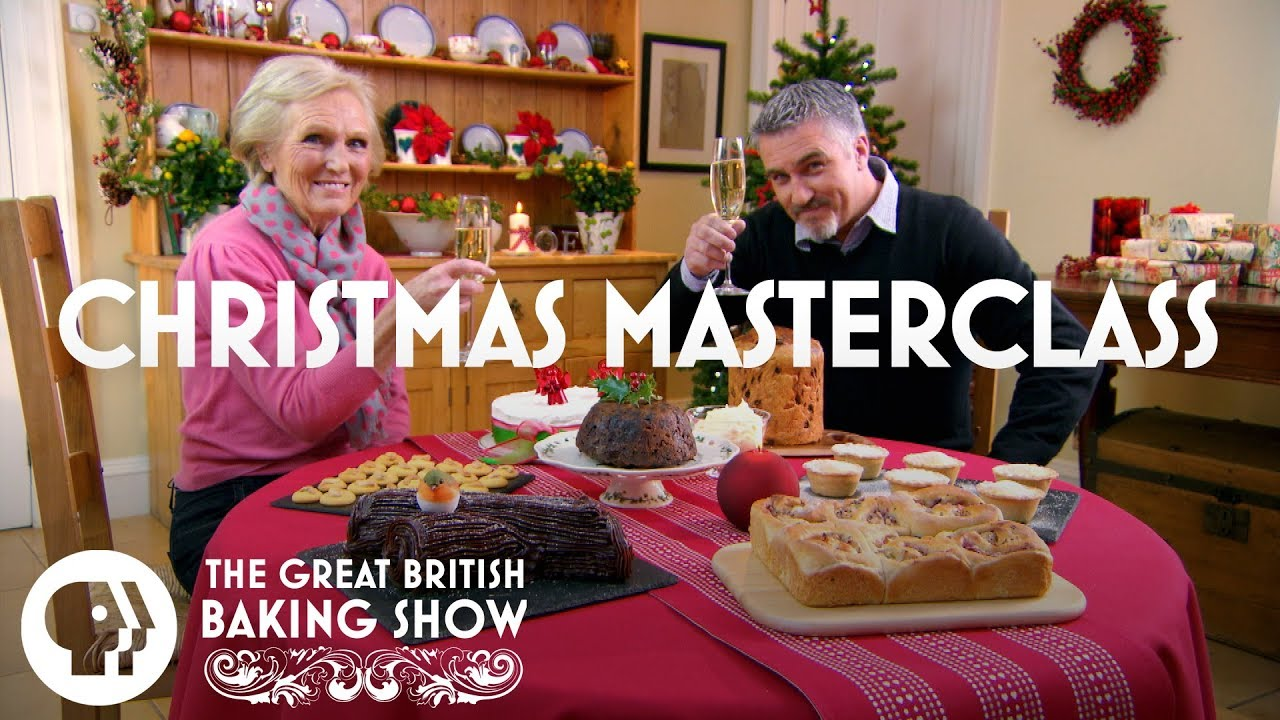 THE GREAT BRITISH BAKING SHOW | Christmas Masterclass Special | PBS Food