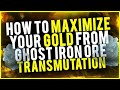 How To Maximize Your Profit From Ghost Iron Ore/ Bars Earn 50k+ Per Day WoW Gold Guide
