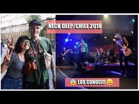 Neck Deep en Chile 31/3/18 EL MEJOR CONCIERTO DE LA VIDA!♥
