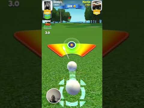 Martin Draper Golf Clash Albatross par 5 30.10.17