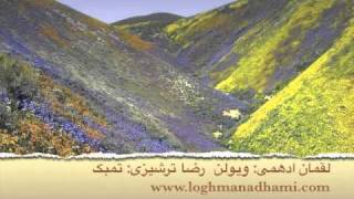 Persian Violin Loghman Adhami's composition: Moteradef