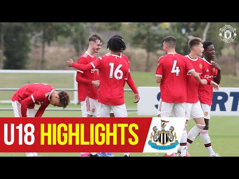 U18 Highlights |  Newcastle United 0-5 Manchester United |  The academy